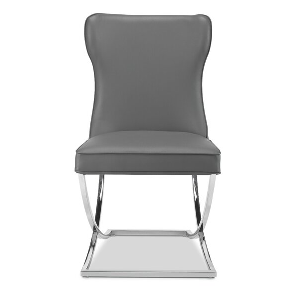 Derringer Upholstered Dining Chair (Set of 2) by Everly Quinn