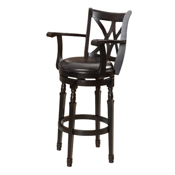 Kappler 30.5 Swivel Bar Stool by Darby Home Co