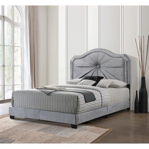 Hamlett Queen Upholstered Standard Bed by House of Hampton