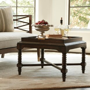 Cachet Dry Martini Bunching Coffee Table with Tray Top