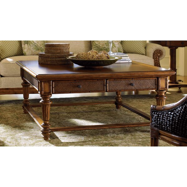 Island Estate Coffee Table with Storage by Tommy Bahama Home Tommy Bahama Home