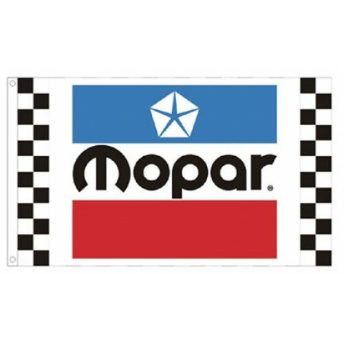 Mopar Racing Polyester 3 x 5 ft. Flag by NeoPlex