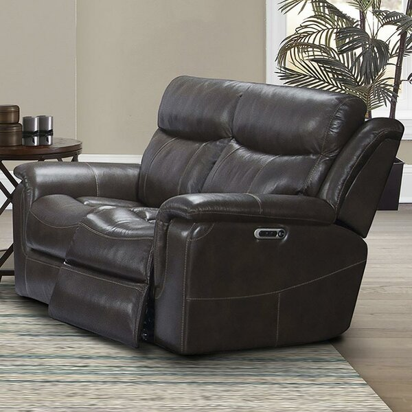 Gillsville Leather Reclining Loveseat By Red Barrel Studio