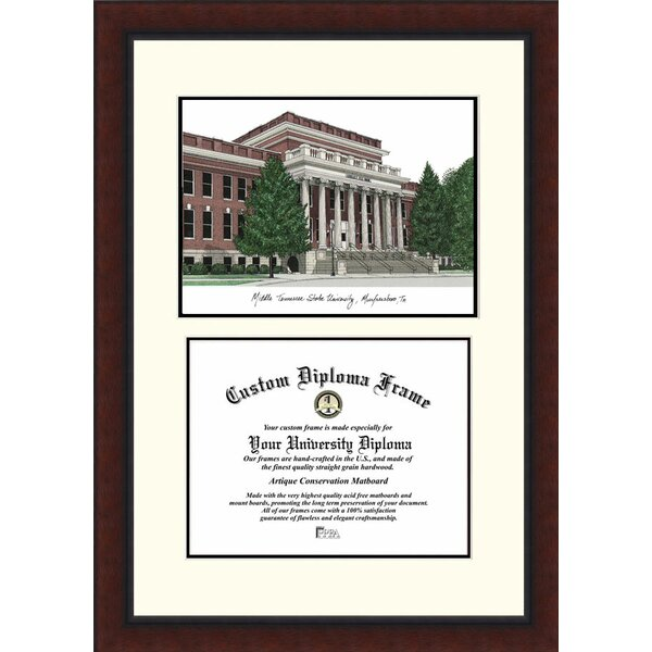 NCAA Middle Tennessee State Legacy Scholar Diploma Picture Frame by Campus Images