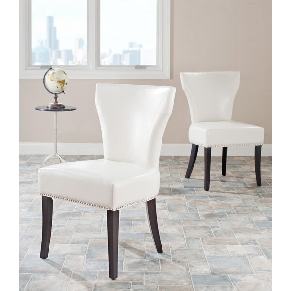 Culebra Upholstered Dining Chair (Set of 2) by Alcott Hill
