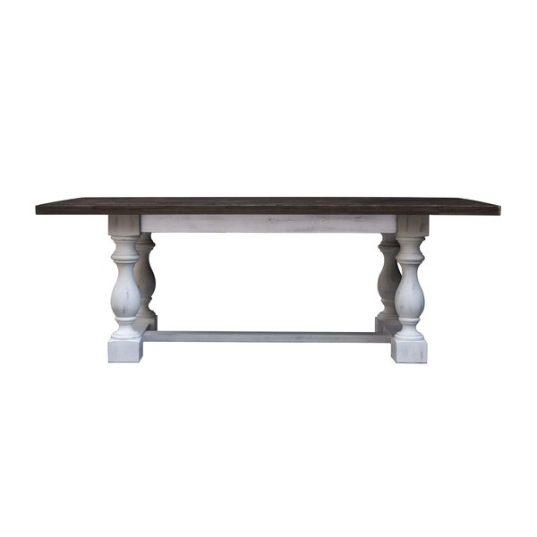 Sadler Solid Wood Dining Table by Rosalind Wheeler Rosalind Wheeler