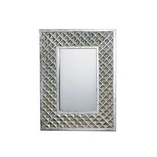 Brayden Studio Pursel MDF Carved Accent Mirror