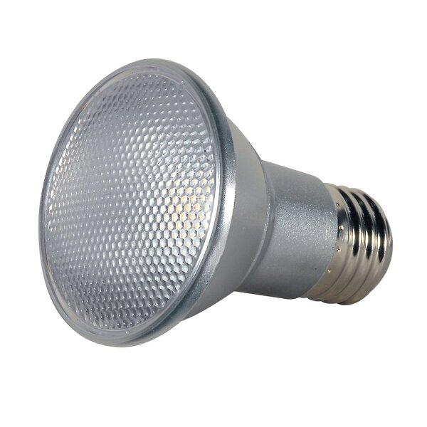 7W E26/Medium LED Light Bulb (Set of 6) by Satco