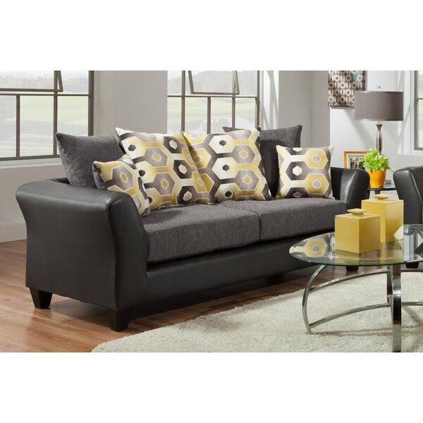 Delightful Graphite Sofa #7 - Latitude Run Wallie Dempsey Graphite Sofa | Wayfair