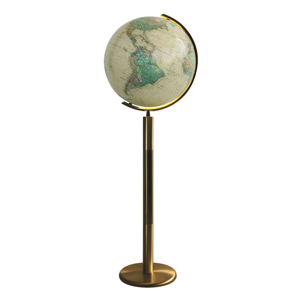 Rosenheim Illuminated Floor Globe by Columbus Globe