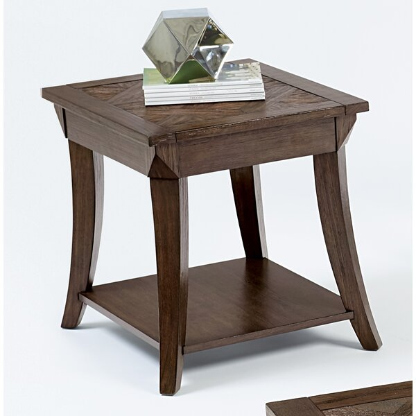 Turtle Mountain End Table by Red Barrel Studio