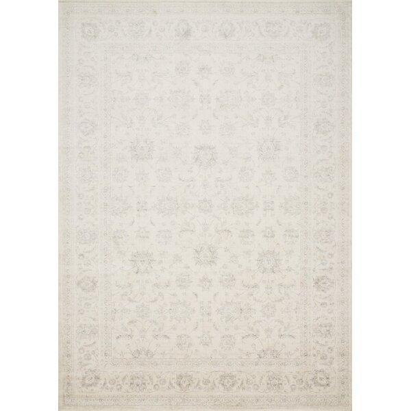Donald Ivory Area Rug by Bungalow Rose