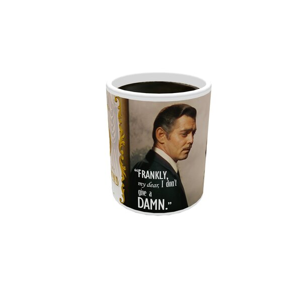 Gone with the Wind (Frankly My Dear) Morphing 11 oz. Mug by Trend Setters