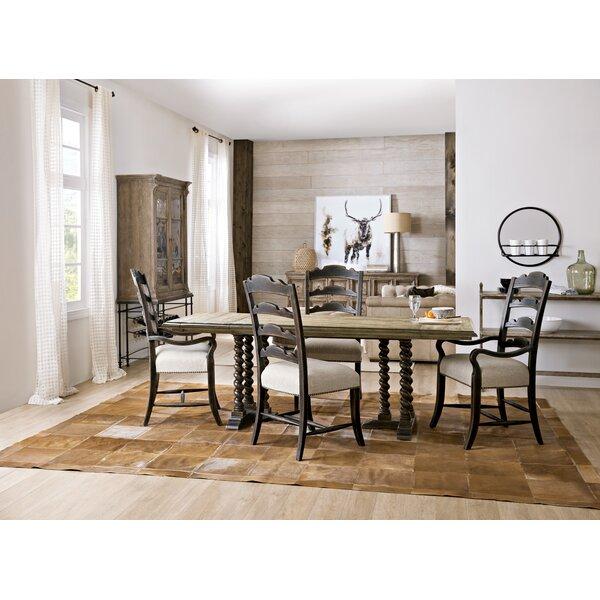 La Grange 5 Piece Solid Wood Dining Set by Hooker Furniture Hooker Furniture