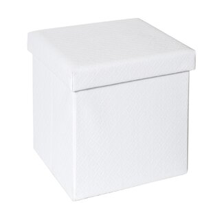 Ralph Quilted Fold-able Storage Ottoman