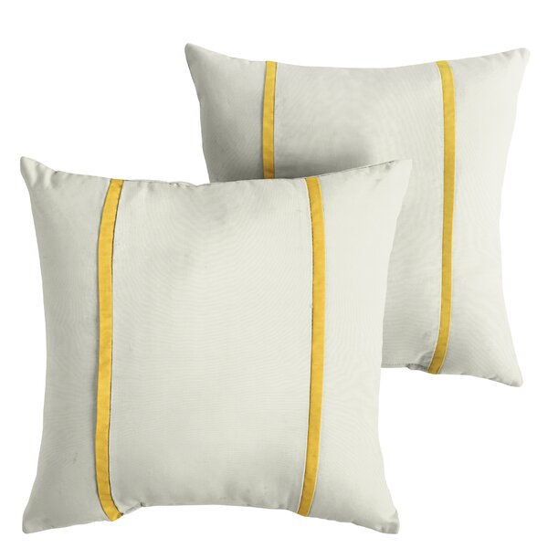 Hollymead Indoor/Outdoor Sunbrella Throw Pillow (Set of 2) by Alcott Hill