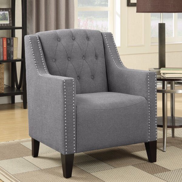 Kepley Wingback Chair By Alcott Hill 2019 Coupon