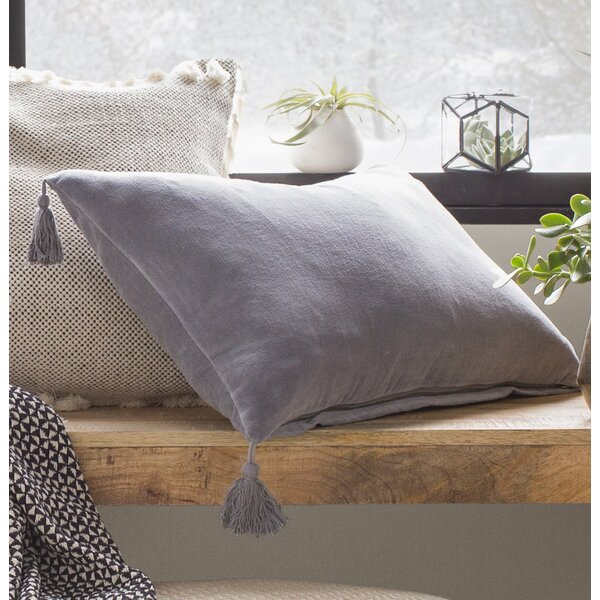 Chandler Velvet Lumbar Pillow by Gracie Oaks