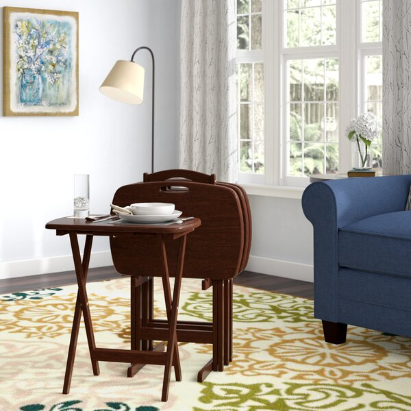 Lucca 5 Piece Table TV Set with Handle by Charlton Home