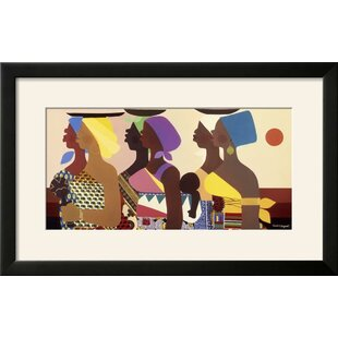 U0027African Womenu0027 Framed Graphic Art Print