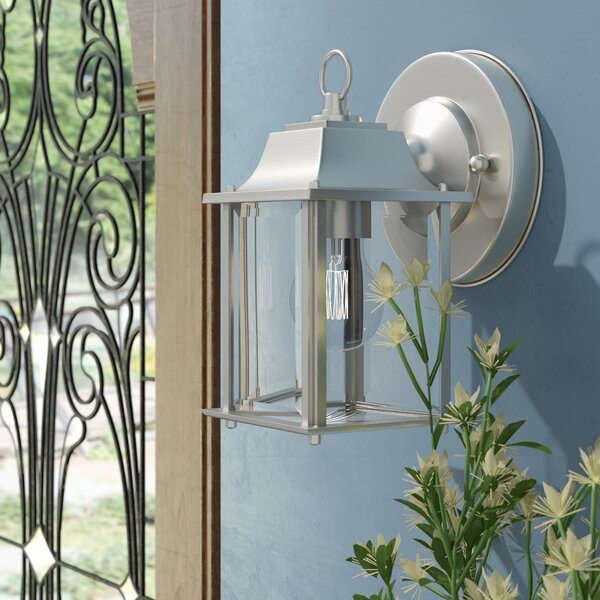 Nightingale 1-Light Outdoor Sconce by Charlton Home