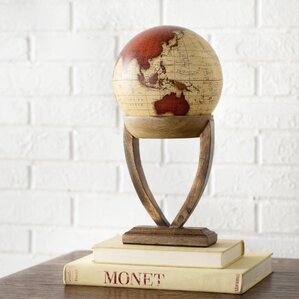 Lahr Globe with Wood Stand