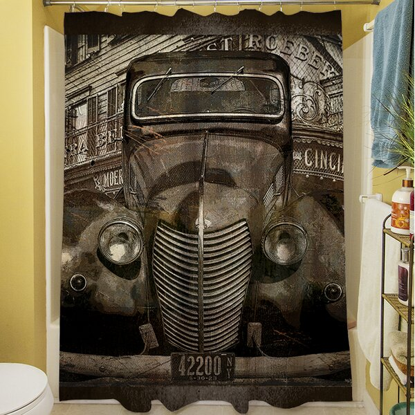 Old New York Shower Curtain by Manual Woodworkers & Weavers