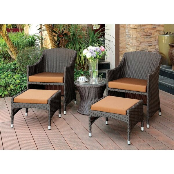Sheehy Patio Chair with Cushions by Ivy Bronx Ivy Bronx