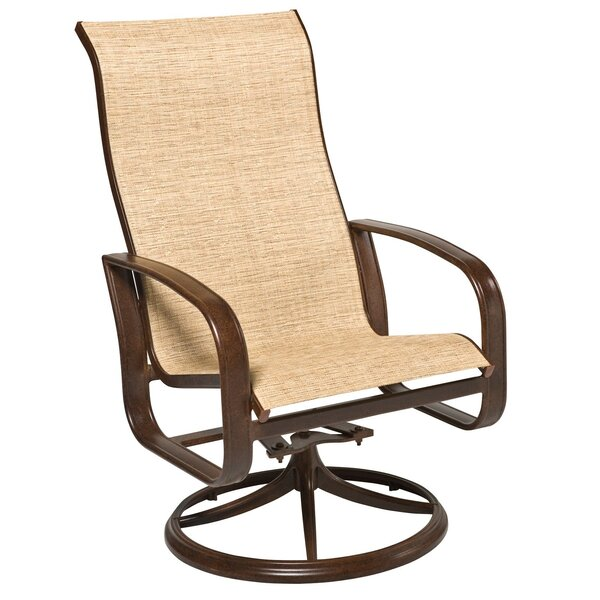 Cayman Isle Swivel Patio Dining Chair by Woodard