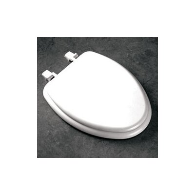 White Toilet With Black Seat. Elongated Molded Wood Toilet Seat with Top Loc Hinges in White K 1014072 0 33 47 Kohler Rochelle  Reviews Wayfair
