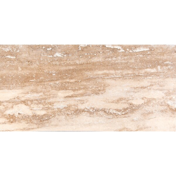 Travertine 16 x 32 Filled and Honed Field Tile in Dore Select by Emser Tile