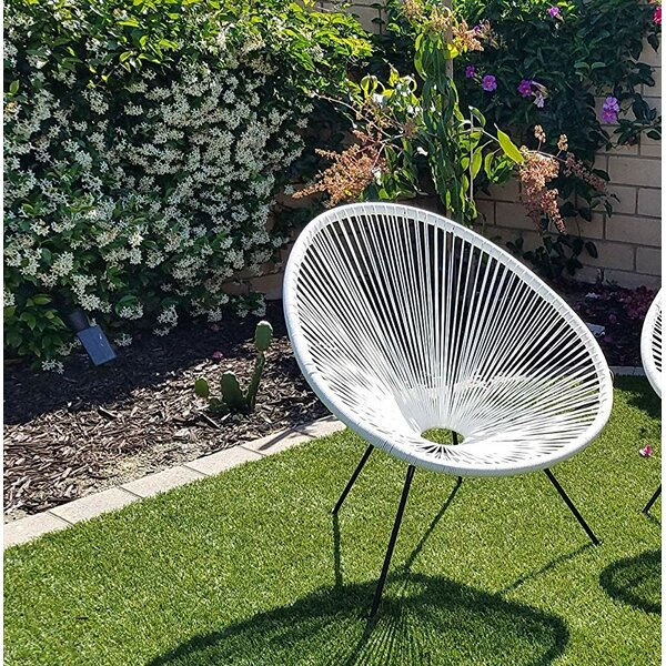 Bovina Sun Oval Patio Chair by Ivy Bronx