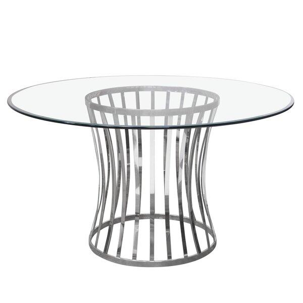 Capri Dining Table by Diamond Sofa Diamond Sofa