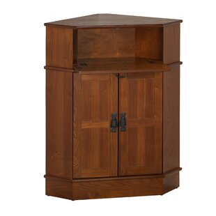 Price comparison Gulley 2 Door Corner Cabinet By Charlton Home