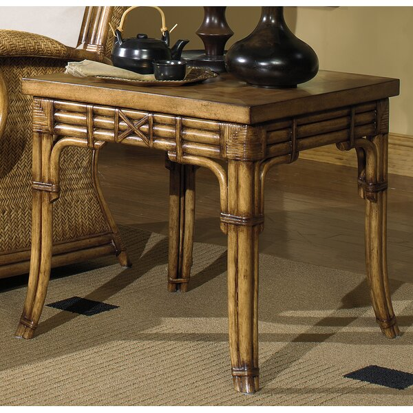 Royal Pine End Table by Acacia Home and Garden