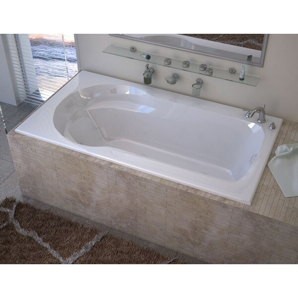 Grenada 60 x 32 Drop In Soaking Bathtub by Spa Escapes