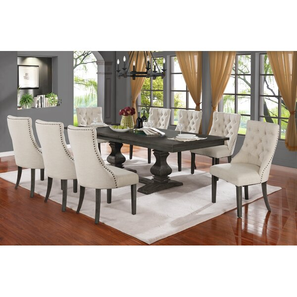 Ruger 9 Piece Extendable Dining Set by Canora Grey