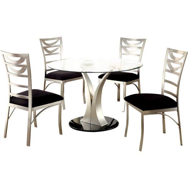 Langford 5 Piece Dining Set by Hokku Designs