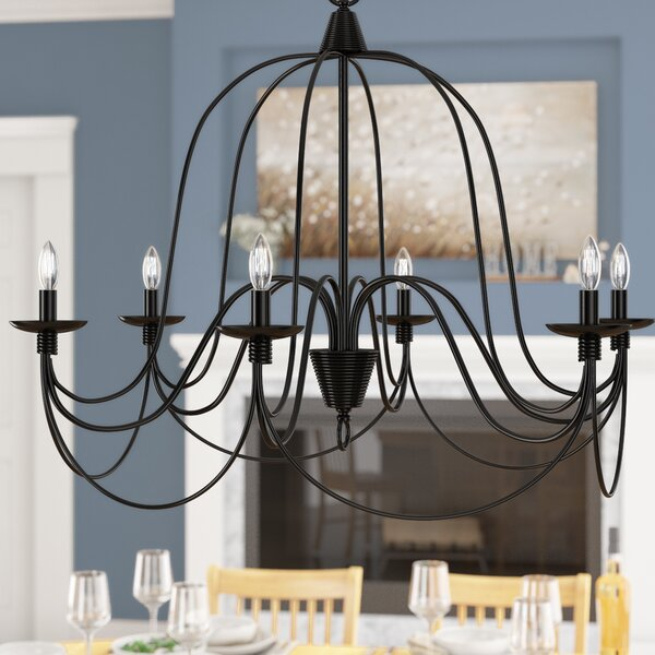 Kollman 6-Light Chandelier by Ophelia & Co.