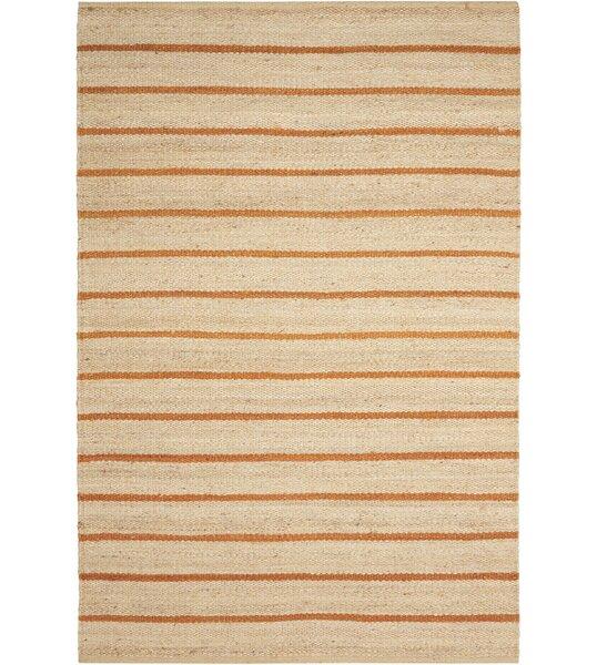Laflin Hand-Woven Ochre/Wheat Area Rug by Kathy Ireland Home