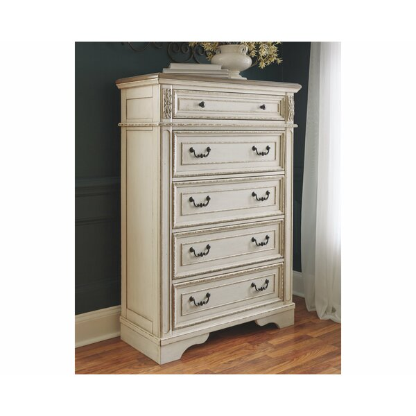Sara 5 Drawer Chest by Ophelia & Co. Ophelia & Co.