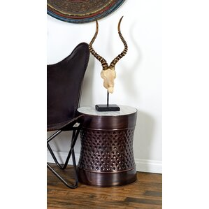 Metal and Marble 2 Piece End Tables by Cole & Grey