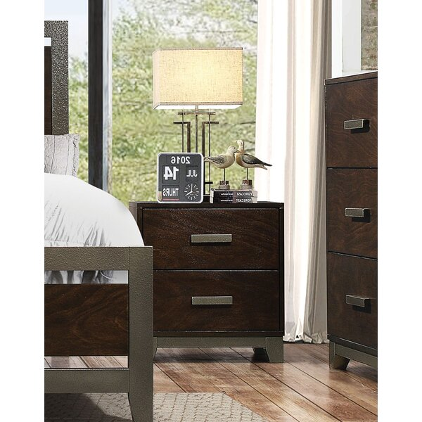 Shirehampton 2 Drawer Nightstand by Union Rustic