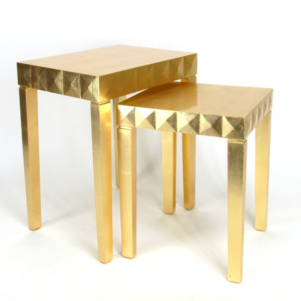 Mingus 2 Piece Nesting Table Set By Mercer41