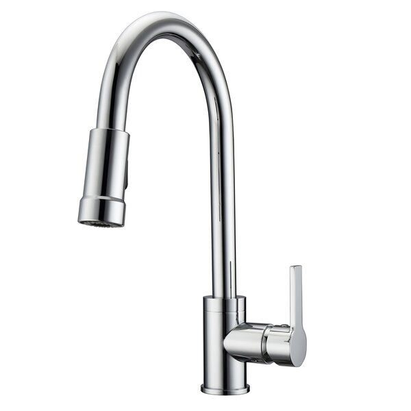 Firth Pull Down Single Handle Kitchen Faucet by Barclay
