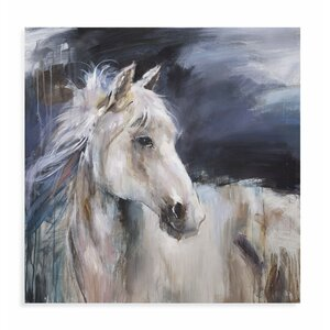 Mystical Horse II Painting Print on Canvas by Loon Peak