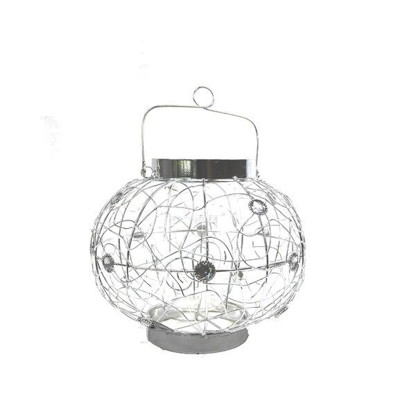 Wire Metal Lantern by Bungalow Rose