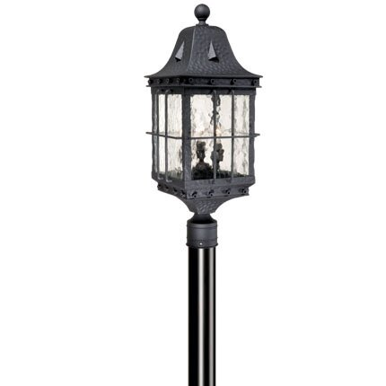 Brough Outdoor 3-Light Lantern Head by Fleur De Lis Living