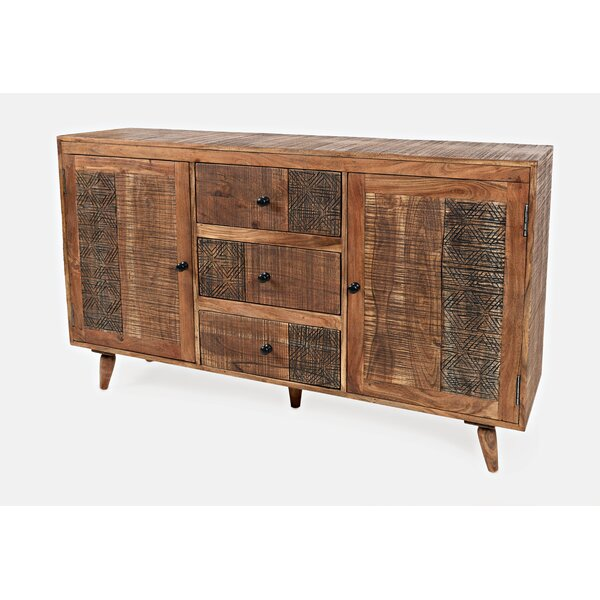 Cataldo 3 Drawers Combo Dresser by Bungalow Rose