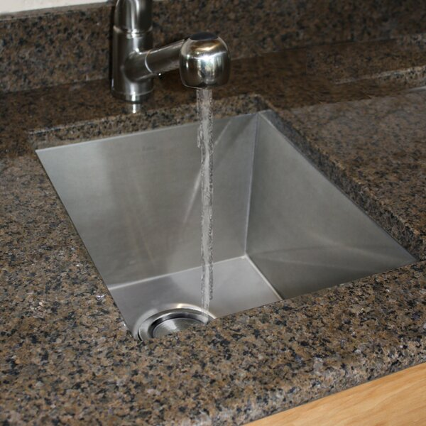 Pro Series 16 5 L X 13 W Bar Sink By Nantucket Sinks.